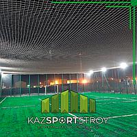 Строительство футбольного поля открытого типа. Тенгиз 2