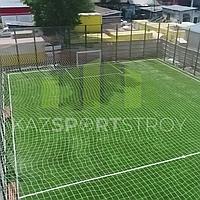 Строительство футбольного поля открытого типа. Алматы 2