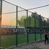 Строительство футбольного поля открытого типа. Алматы 5