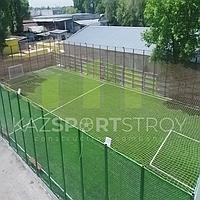 Строительство футбольного поля открытого типа. Алматы 6