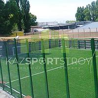 Строительство футбольного поля открытого типа. Алматы 7