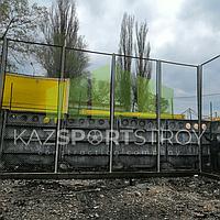 Строительство футбольного поля открытого типа. Алматы 9
