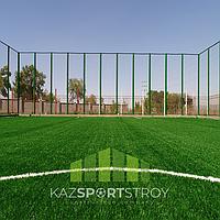 Строительство футбольного поля открытого типа. Алматинская облась. Каскелен 1