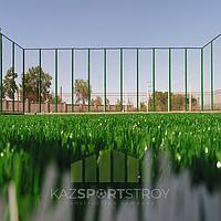 Строительство футбольного поля открытого типа. Алматинская облась. Каскелен 2