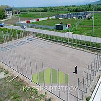 Строительство футбольного поля открытого типа. Алматинская облась. Каскелен 4