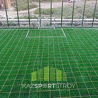 Строительство футбольного поля открытого типа. Алматинская облась. Каскелен 6