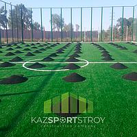 Строительство футбольного поля открытого типа. Алматинская облась. Каскелен 8