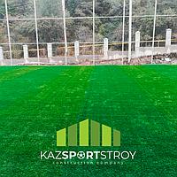 Строительство футбольного поля открытого типа. Зона отдыха 4