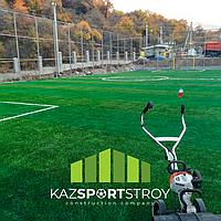 Строительство футбольного поля открытого типа. Зона отдыха 5