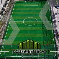 Строительство футбольного поля открытого типа. Зона отдыха 7