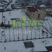 Строительство футбольного поля закрытого типа. Талгар КТЛ 6