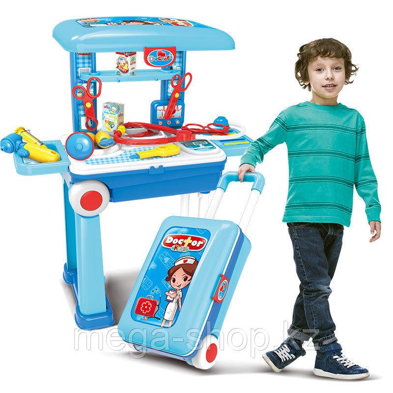 Детский набор доктора в чемоданчике 2 в 1 008-925а