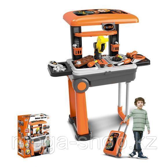Детский набор инструментов в чемодане 2 в 1 008-922А