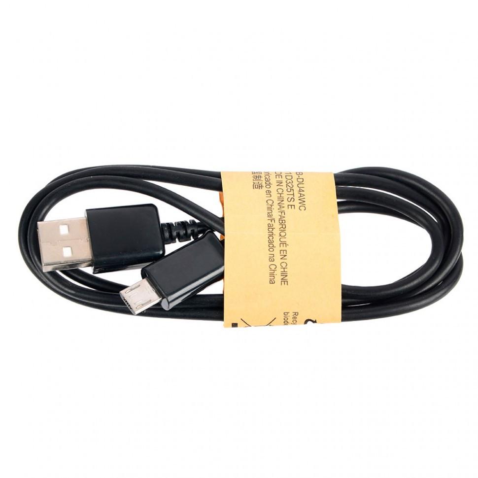 Кабель Ritmix RCC-110 MicroUSB-USB черный