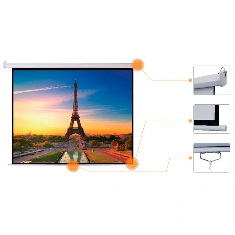 """Экран для проектора механический Mr.Pixel 120' X 120"""" (3,05 X 3,05)"""