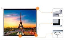 """Экран для проектора механический Mr.Pixel 96"""" X 96"""" (2.44 X 2.44)"""