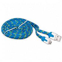 Кабель Ritmix RCC-212 MicroUSB-USB Blue