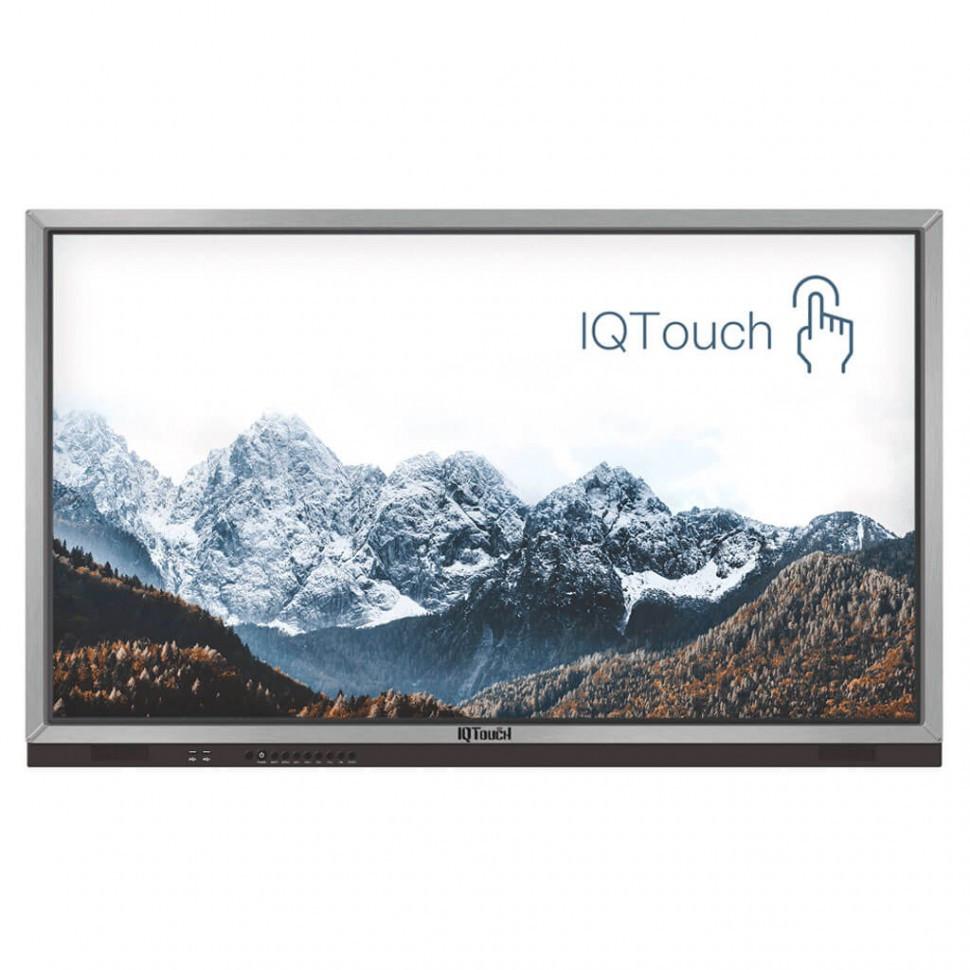 """Интерактивная панель 75"""" IQBoard J-серия + ПК (10 касаний, 3840*2160, UHD, i3+4G+1TB)"""