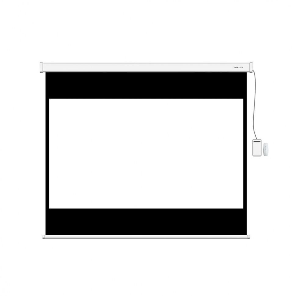 Экран моторизированный, Deluxe, DLS-ERC274х206W, Настенный/потолочный, Рабочая поверхность 266x198 см., 4:3,