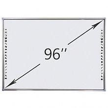 Интерактивная доска DigiTouch DTWB96SM10A00ALG, 10 касаний, диагональ 96 дюймов, цвет рамки серый