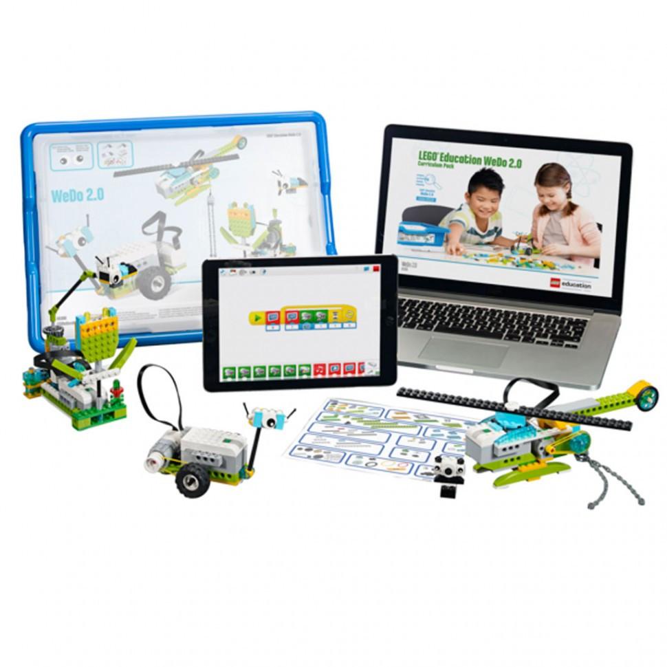 Lego Education: Базовый набор LEGO Education WeDo 2.0 (MILO)
