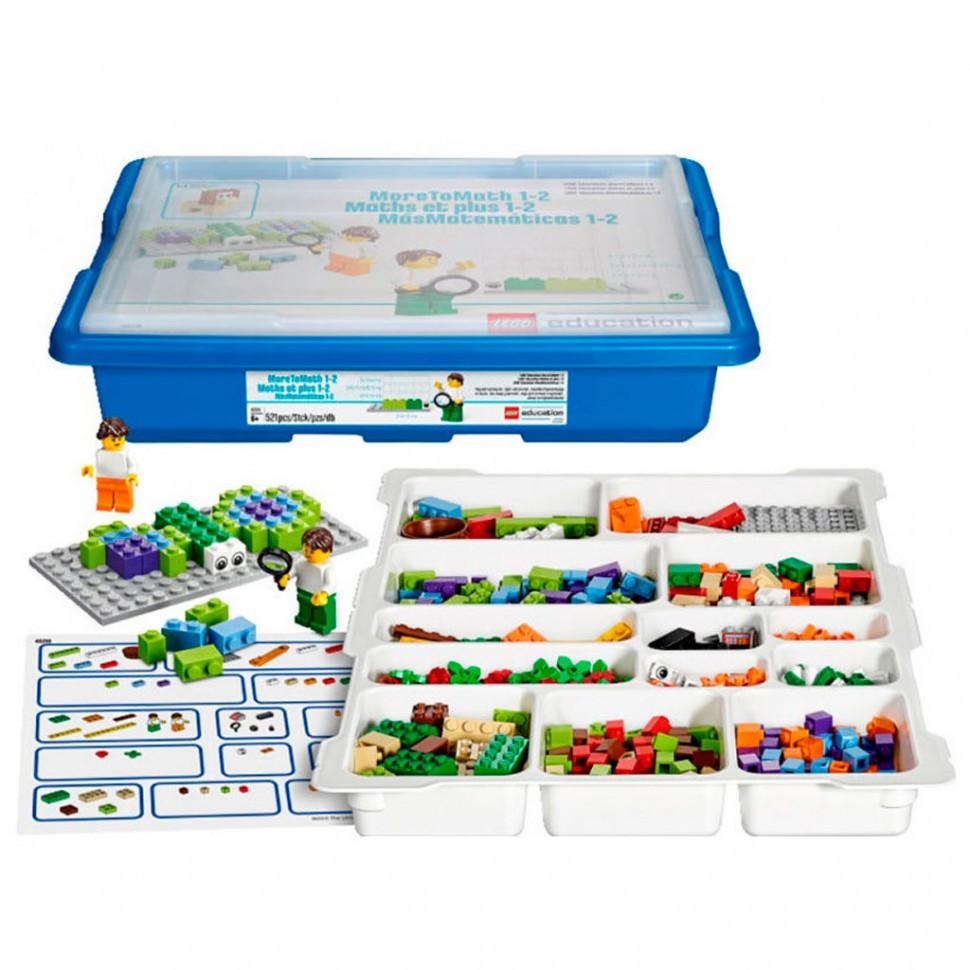 """Lego Education: Базовый набор MoreToMath """"Увлекательная математика. 1-2 класс"""""""