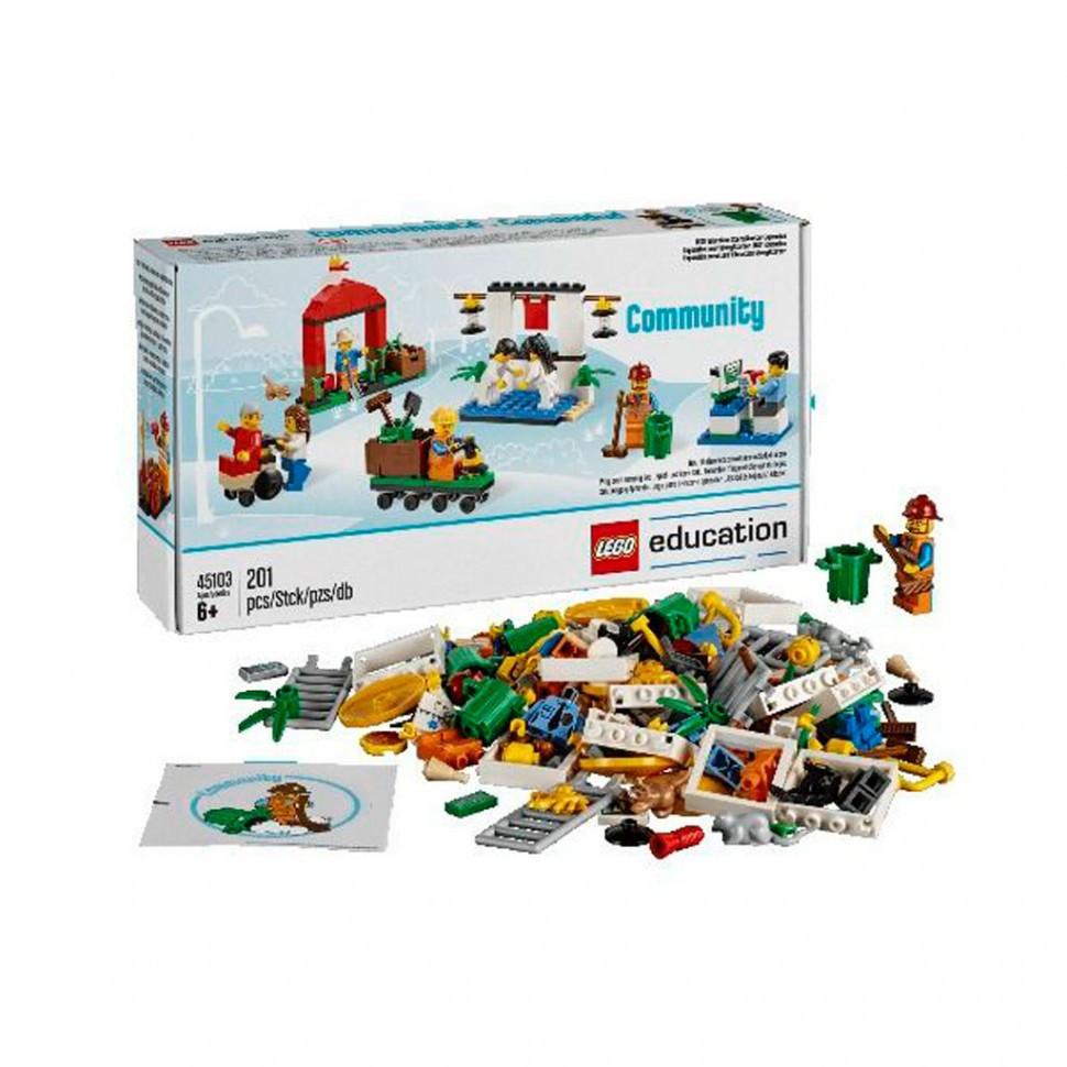 """Lego Education: Дополнительный набор StoryStarter """"Построй свою историю. Городская жизнь"""""""