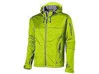 Куртка софтшел Match мужская, св.зеленый/серый