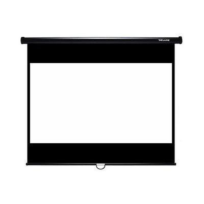 Экран для проектора механический посеребреный. для пассивного 3D (2,4x2,4 м)