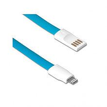 Кабель Smartbuy USB - 8-pin для Apple, магнитный, длина 1,2 м, голубой (iK-512m blue)/500