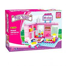 Игровой конструктор, Ausini, 24409, Мир Чудес, Магазин сладостей, 152 детали, Цветная коробка