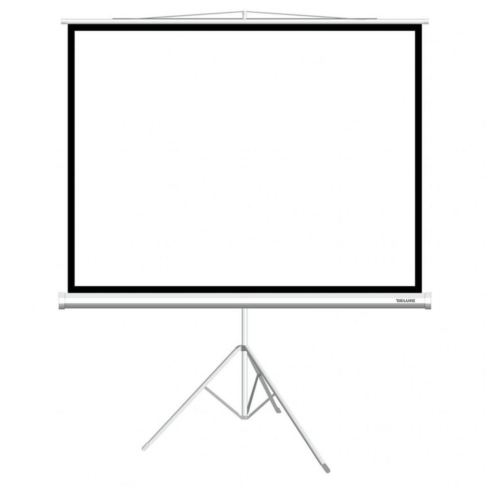 Экран на треноге Deluxe DLS-T153x116W (149х112 см)