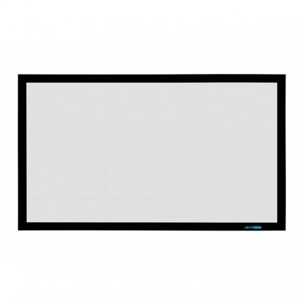 PROscreen Экран для проектора натяжной на раме (полотно Villa Grey 4K) FCF9135