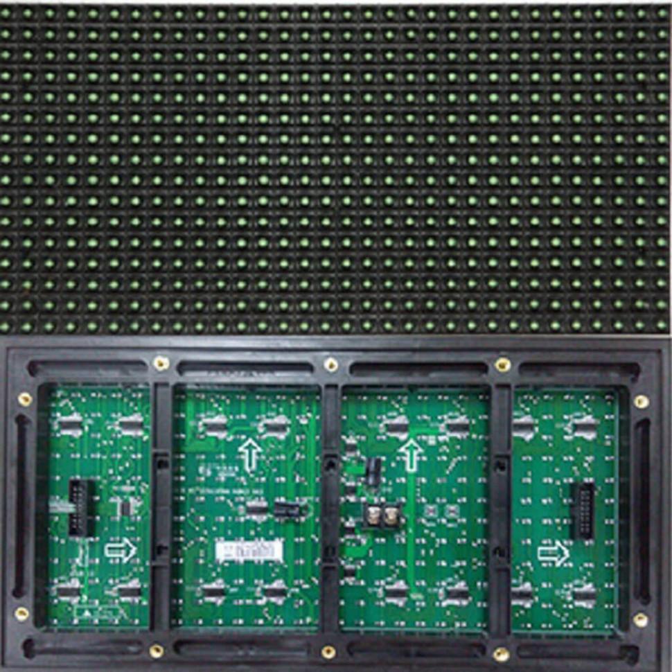 Led модуль зеленый DIP P10 320*160 GREEN для наружного применения (outdoor)