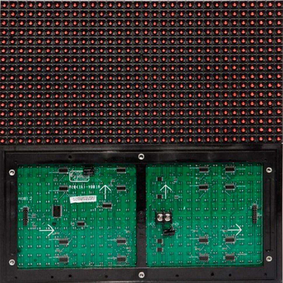 Led модуль красный DIP P10 320*160 RED для наружного применения (outdoor)