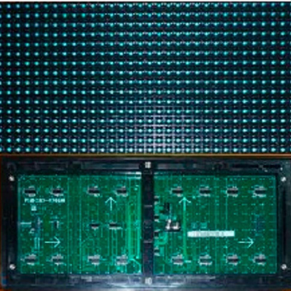 Led модуль синий DIP P10 320*160 BLUE для наружного применения (outdoor)