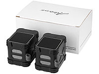 Водонепроницаемые колонки Bond с функцией Bluetooth® для использования на открытом воздухе, черный