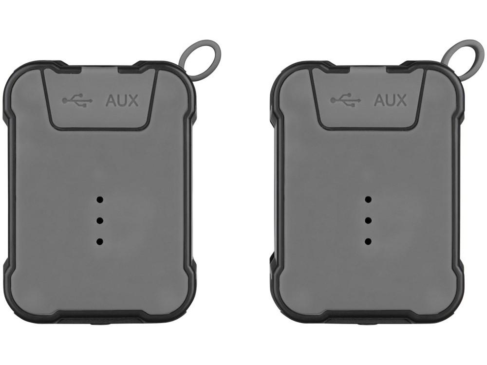 Водонепроницаемые колонки Bond с функцией Bluetooth® для использования на открытом воздухе, черный - фото 3