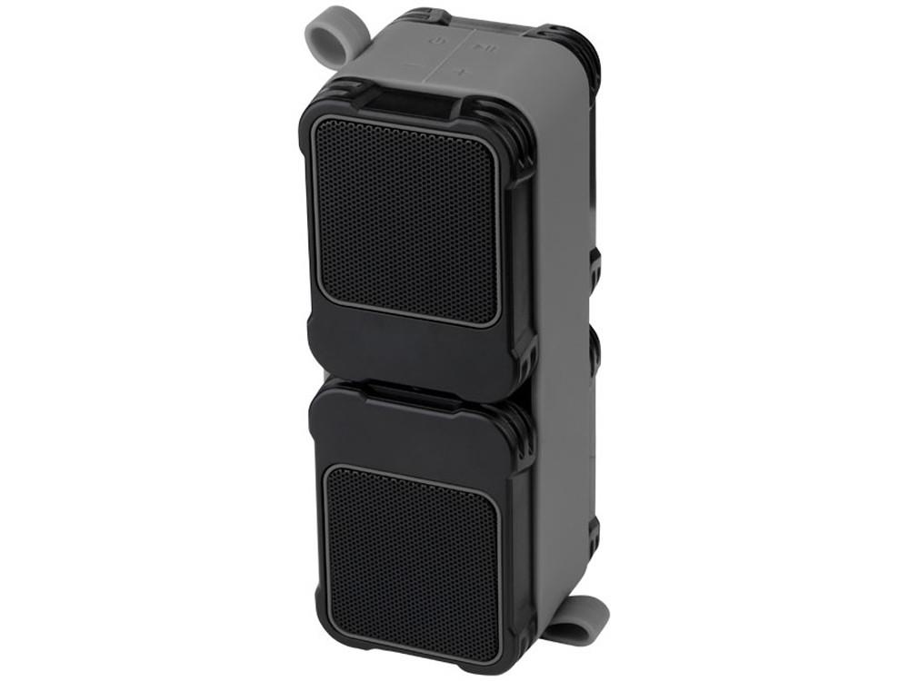 Водонепроницаемые колонки Bond с функцией Bluetooth® для использования на открытом воздухе, черный - фото 4