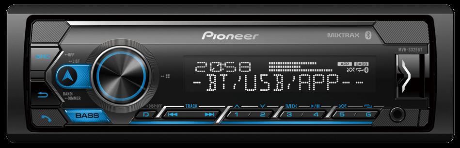Автомагнитола Pioneer MVH-S325BT