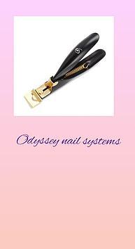 Тирсорез для удаление искусственных ногтей Odyssey Nails Systems