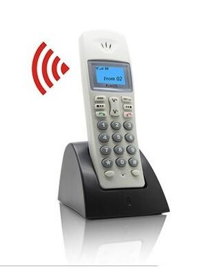 Аудио интерком система, трубка беспроводная KIVOS KDB-201 intdoor /гарантия - 6 мес/