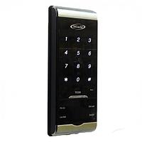 Цифровая антивандальная кодонаборная панель RFID (EMID, Mifare) TC20, металлическая, накладная, сенсорная, NO/