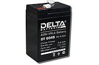 Аккумулятор 6В 4,5А.ч Delta DT 6045 /гарантия - 14 дней/