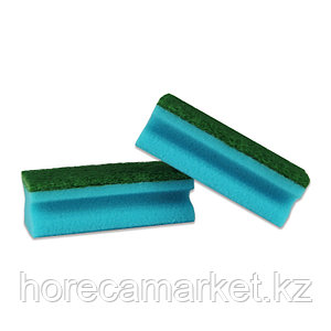 Губка для клининга Фреза 130x70x45 (8шт) зелен.
