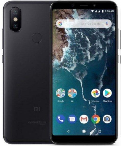 Смартфон Xiaomi Mi A2 (Черный)
