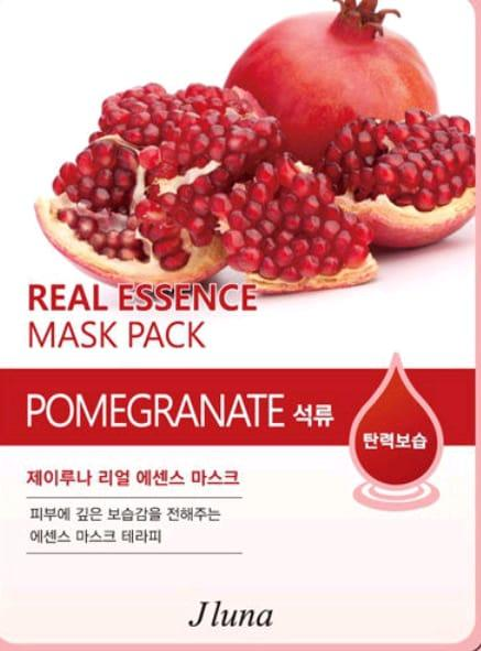 Juno Тканевая маска с гранатом Jluna Real Essence Mask