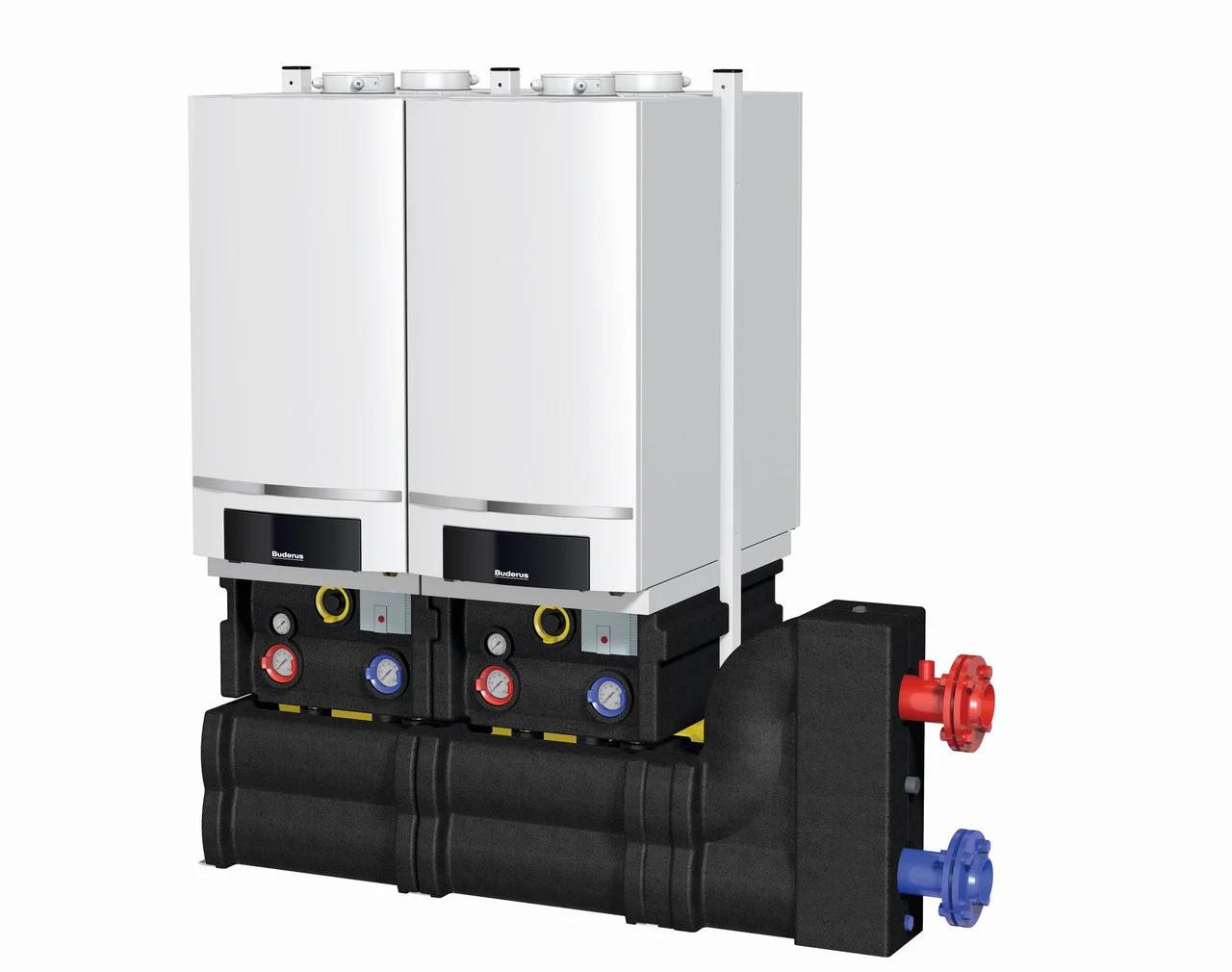 Конденсационный котел Buderus logamax plus gb162 100 кВт