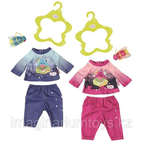 Zapf Creation Baby Born Бэби Борн 43 см Удобный костюмчик и светлячок-ночник