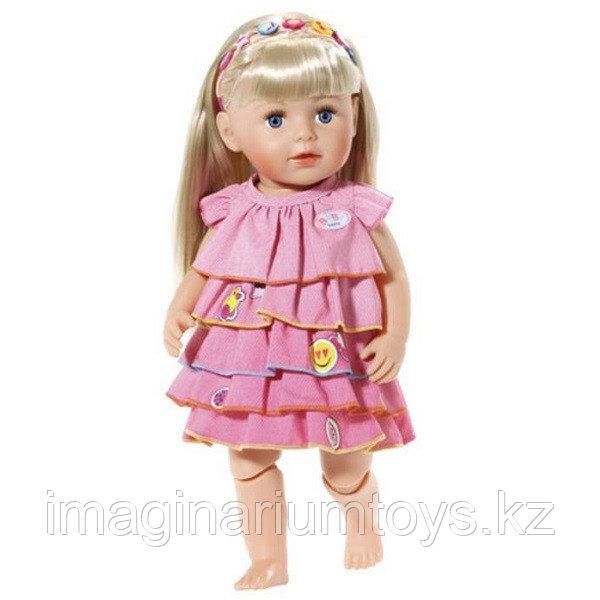 Baby born Бэби Борн Платье и ободок-украшение для куклы 43 см